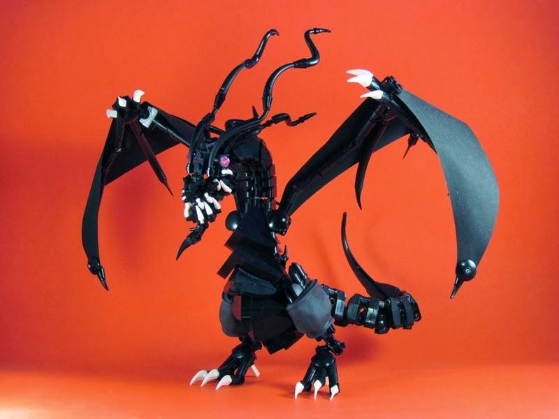Brick end ninjago overlord and golden dragon by mike nieves - Ninjago dragon d or ...