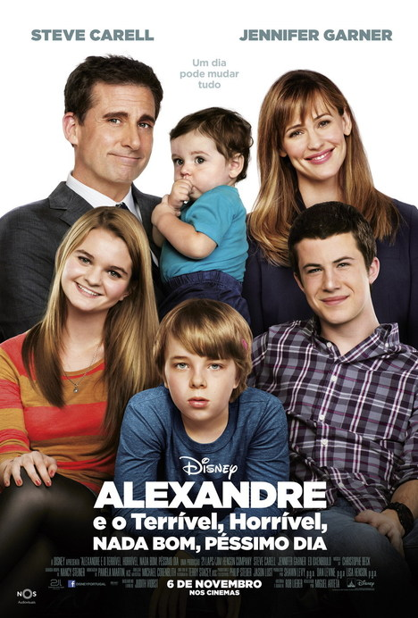 Alexander and the Terrible,Horrible,No Good,Very Bad Day [Alexandre e o Terrível, Horrível, Nada Bom, Péssimo Dia]