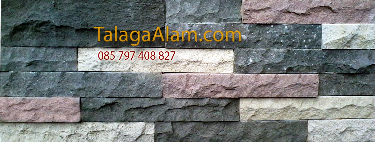 wall cladding batu alam motif m3 talaga alam