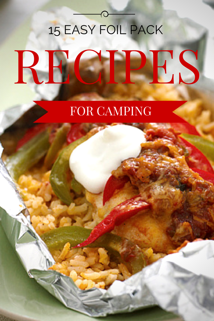 Guide Recipes Camping Foil Pack