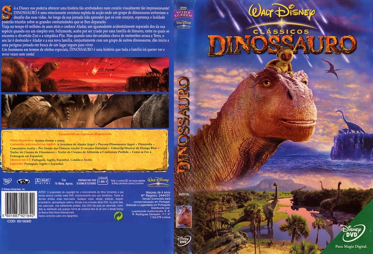 Dinossauro DVD Capa
