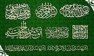 Free Download Font Arab Keren + Font Kaligrafi