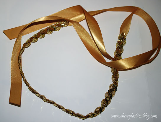 Sequin headband, hettie hair accessories