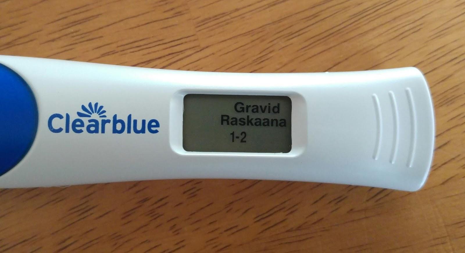 färsk blödning gravid