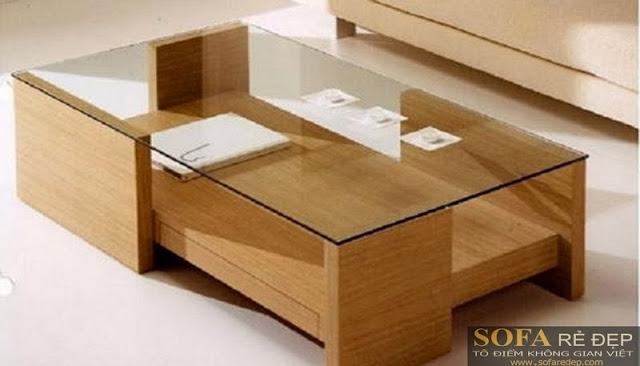 Bàn sofa gỗ BS027
