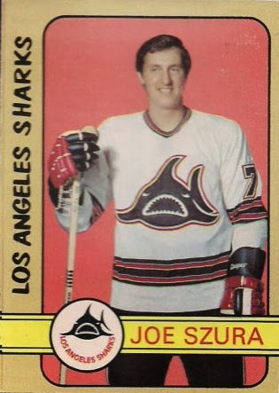 joe szura 1972-73 o-pee-chee wha los angeles sharks