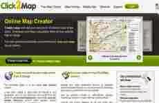 Click2map: crear mapas online agregando nuestros puntos de interés