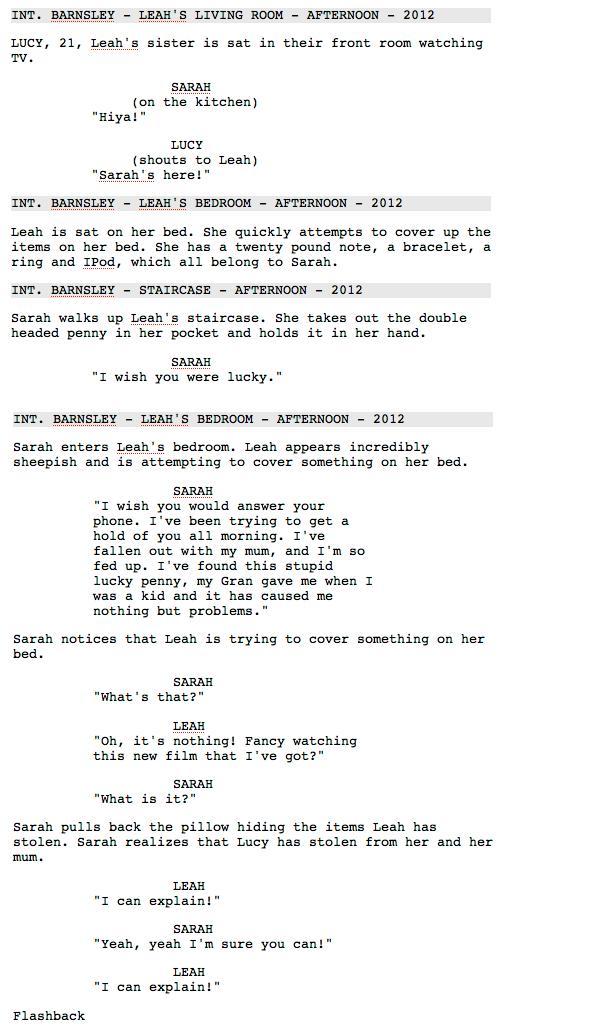 script exemple film