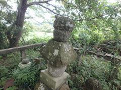 松田左近の墓(島根県松江市上本庄町)