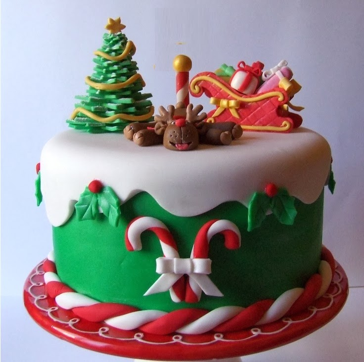 Christmas Cake Decoration Ideas Pinterest : Christmas 2015 Cake Recipes with Pictures Pinterest