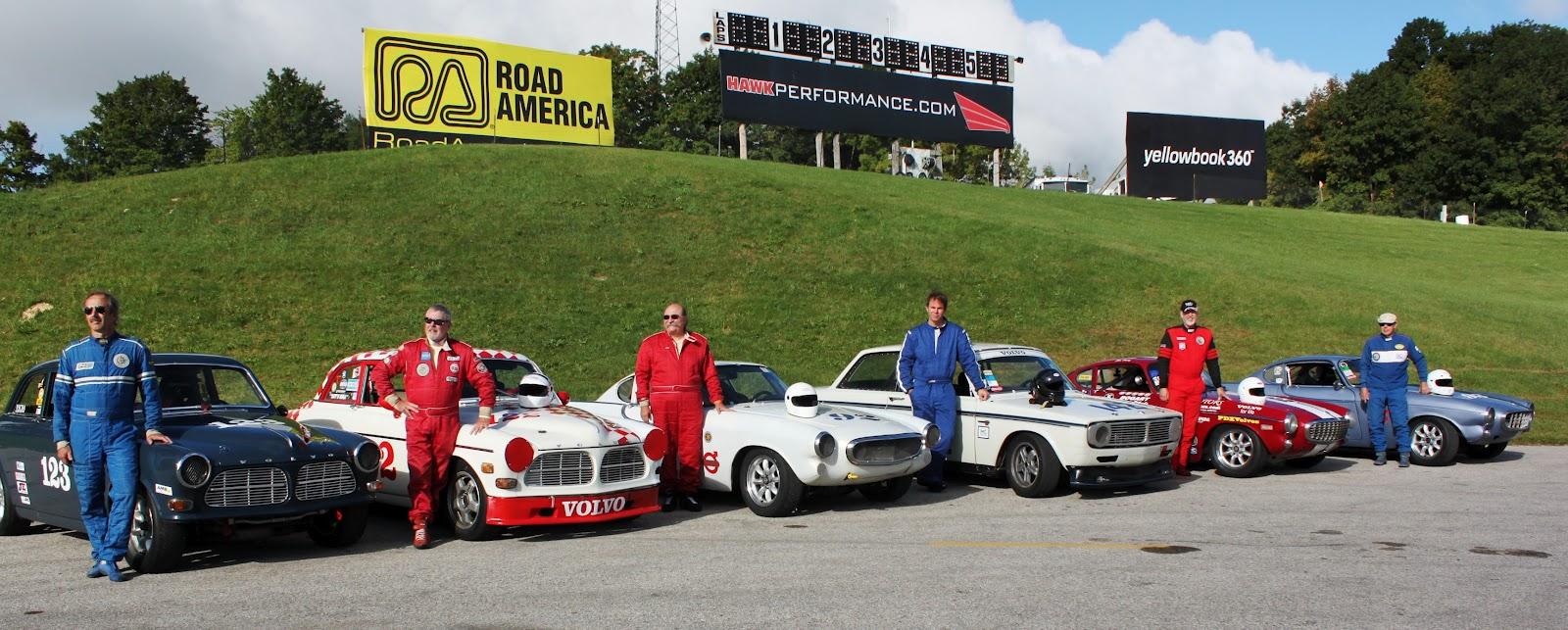P and B Motorsports - Vintage Volvo Racing: September 2012
