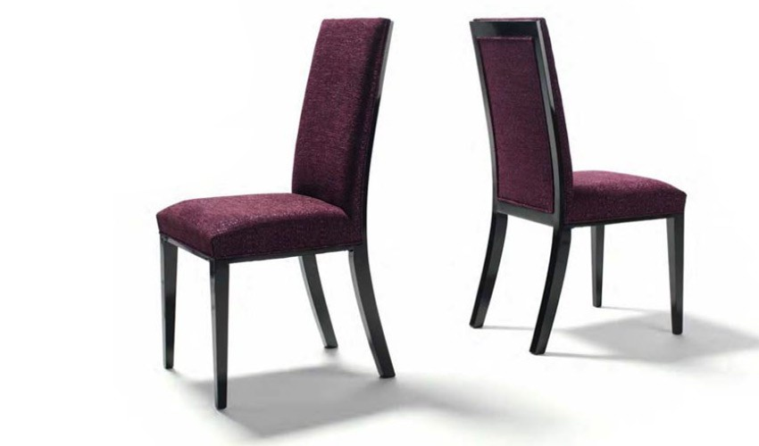 Decorando dormitorios lindas sillas de comedor tapizadas for Sillas para comedor modernas
