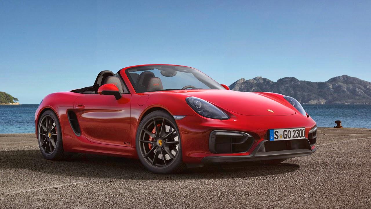 Porsche Boxster GTS front