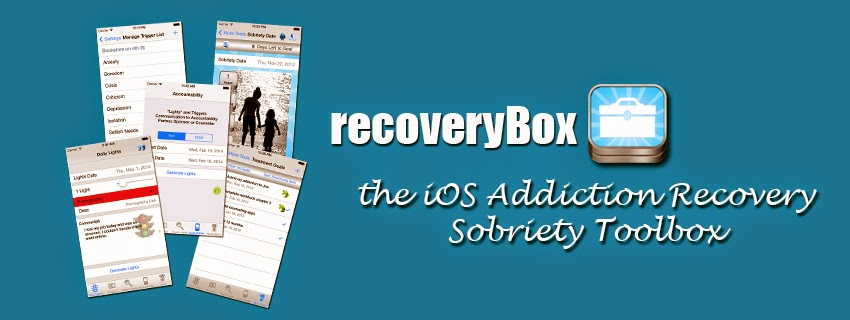 recoveryBox iOS App for Addiction Recovery