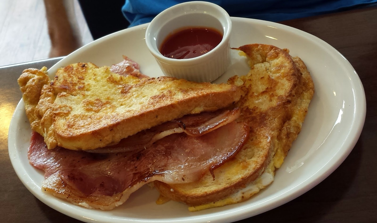Eggy bread with bacon - Choco Latte, Hillsborough