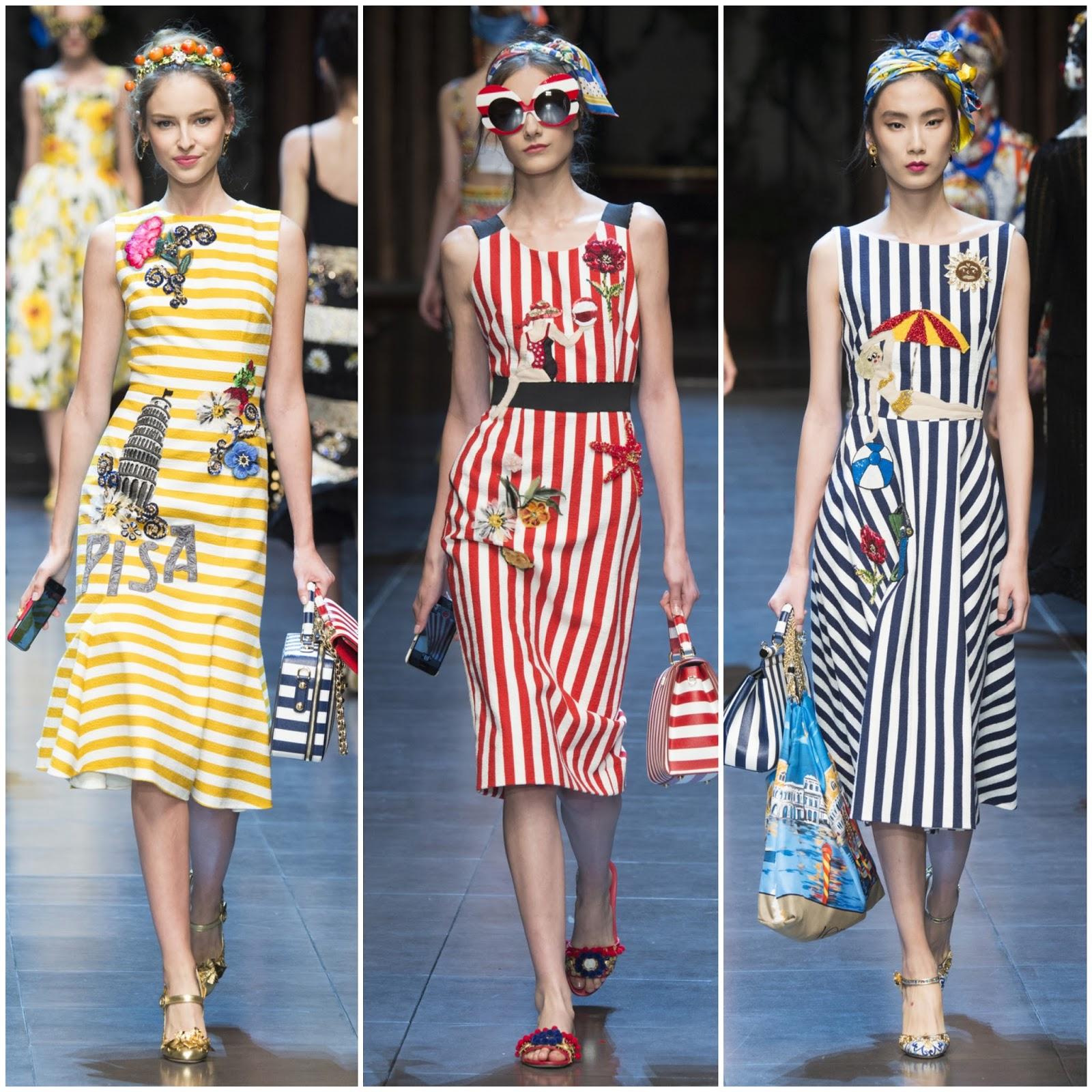 Striped Slip On Spring/summer Dolce & Gabbana N8gqz