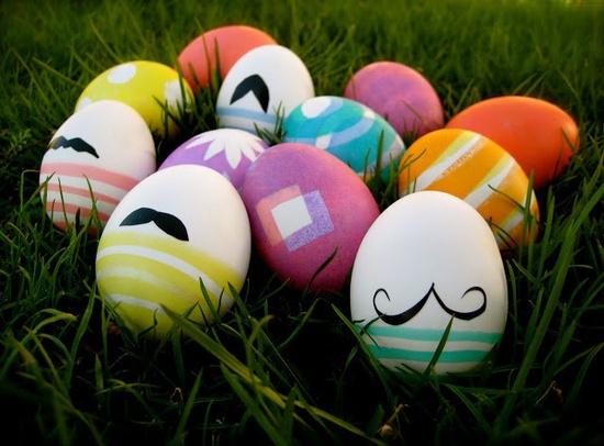 Ovos páscoa pintados decorados tutorial