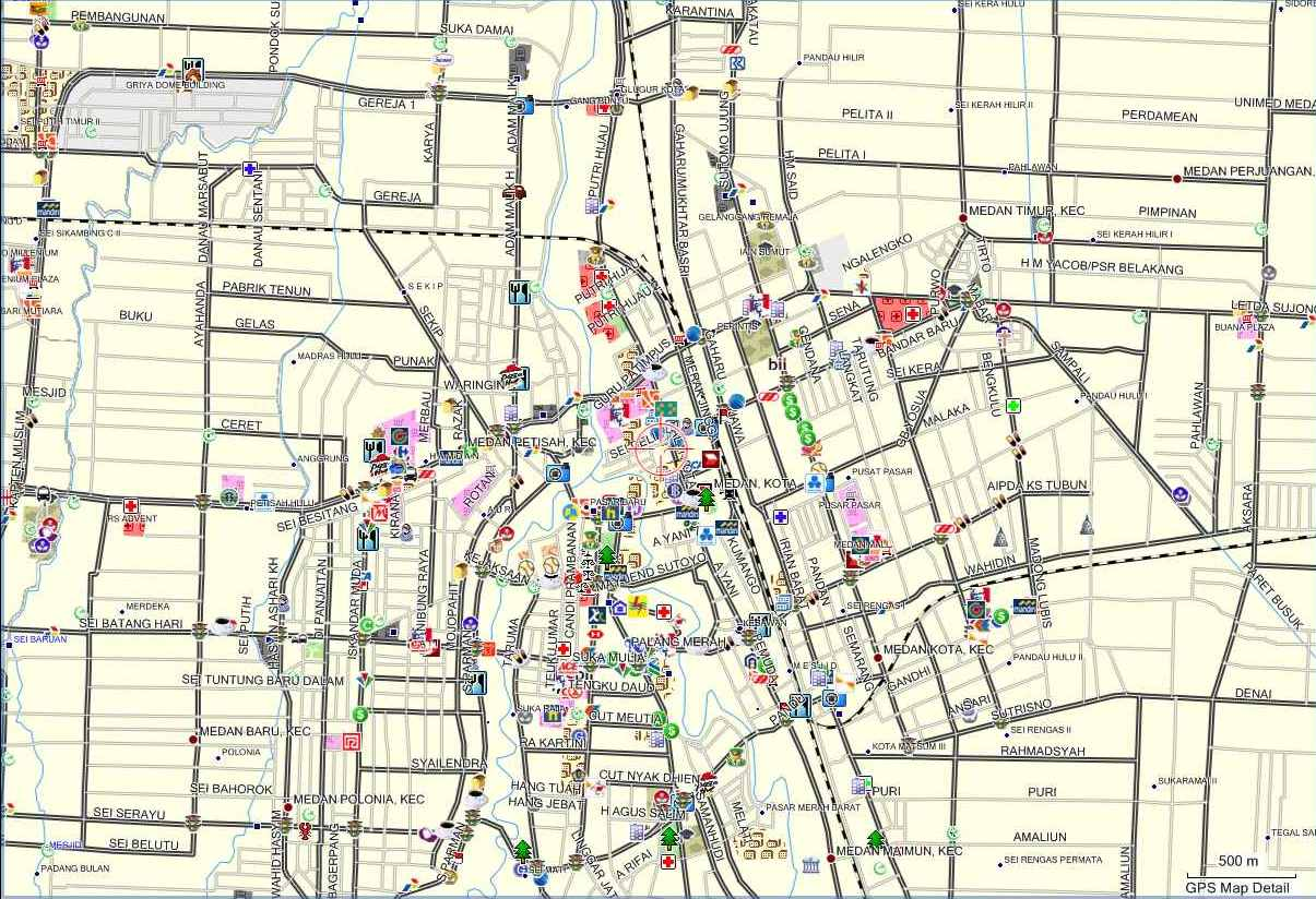 Medan Map Medan City Guide