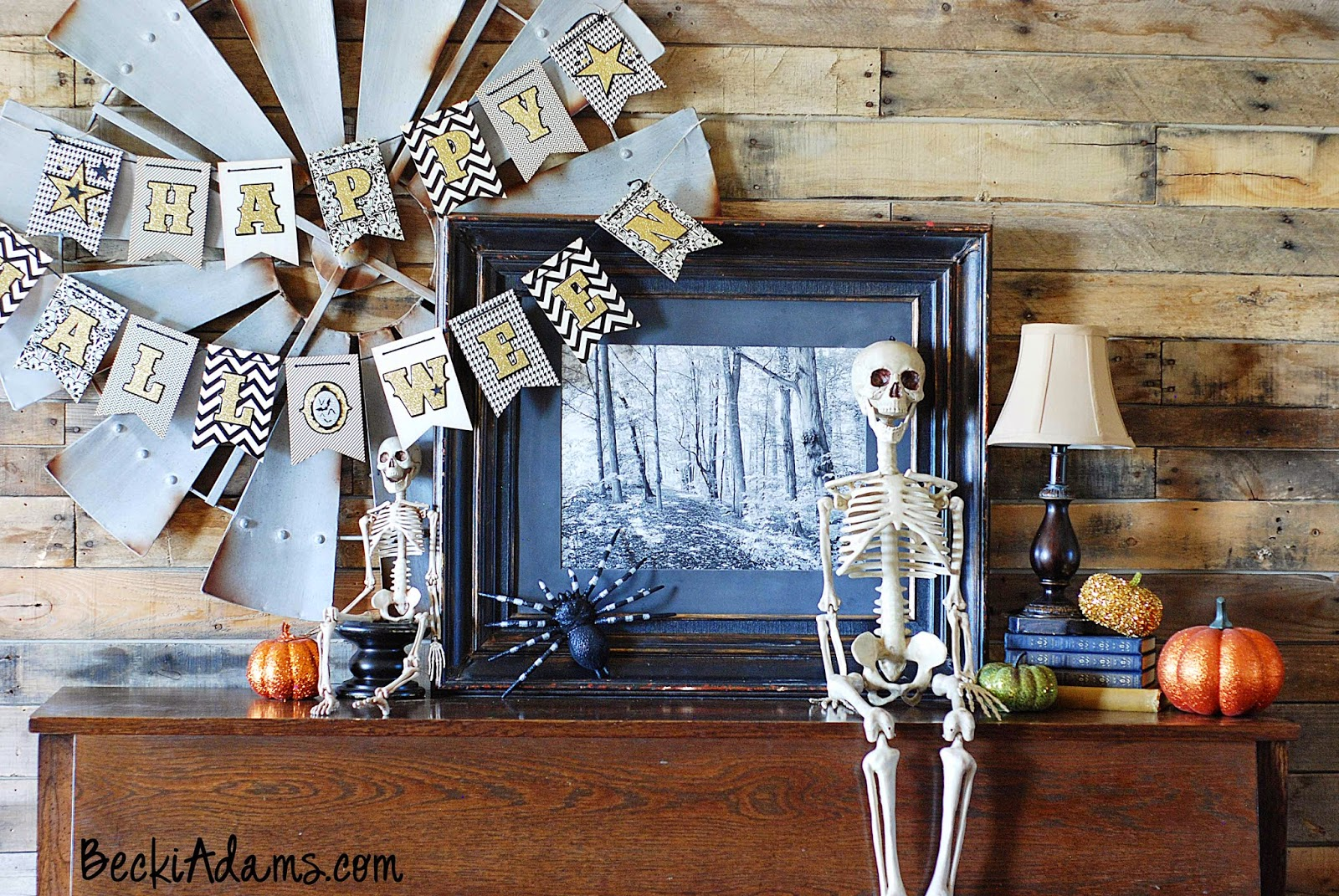 Halloween Decorating Ideas by Becki Adams