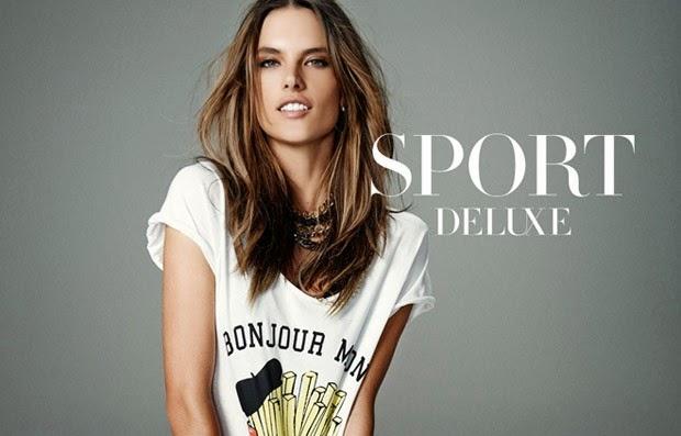 Dafiti Sports Deluxe Spring/Summer 2015 Campaign featuring Alessandra Ambrosio