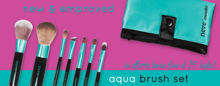 Neve Cosmetics - Aqua Brush Set