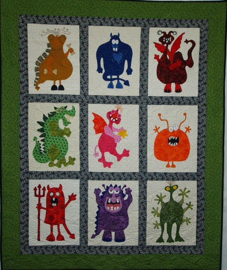 Annie Quinn's Monster Quilt