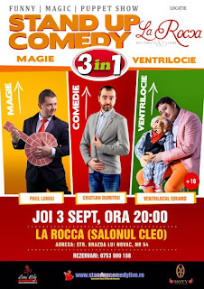 Stand-Up Comedy Magie si Ventrilocie Craiova Joi 3 Septembrie