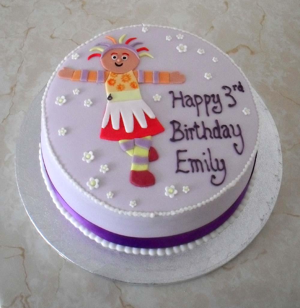 Sprinkles Crumbs Upsy Daisy Birthday Cake