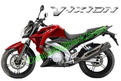 Harga dan Spesifikasi Yamaha New V-ixion 2013
