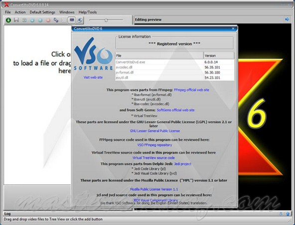 download convert x to dvd + serial