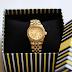 Nowy nabytek - złoty zegarek