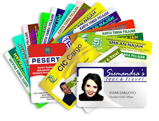 Tutorial cara cetak id card dengan kertas PVC