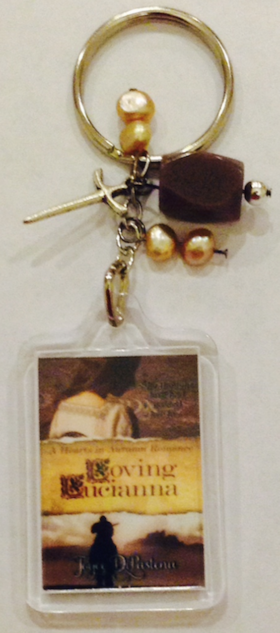 "Want a ""Loving Lucianna"" keychain? Click on the picture below to find out how to get one!"