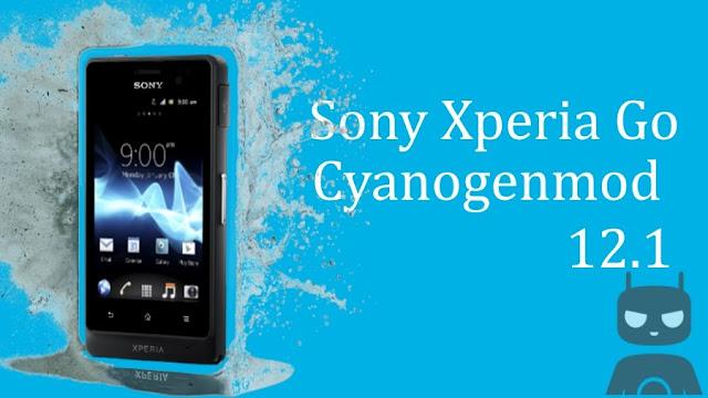 Lollipop Cyanogenmod 12.1 Custom Rom Sony Xperia Go Lotus ST27i ST27a