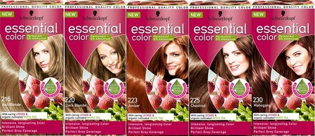 Палитра цветов Schwarzkopf Essential Color