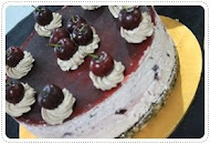 black forest cheese kek