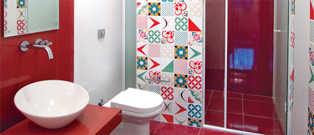 decoracao banheiro retro : decoracao banheiro retro:Oficina de Arquitetura: Ladrilho hidráulico e Azulejos Estampados