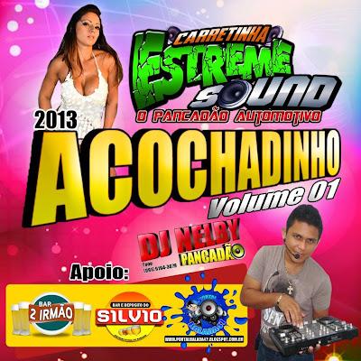 CD ACOCHADINHO VOL.01 - 2013 (Carretinha Estreme Sound e Dj Nelby Pancadão)