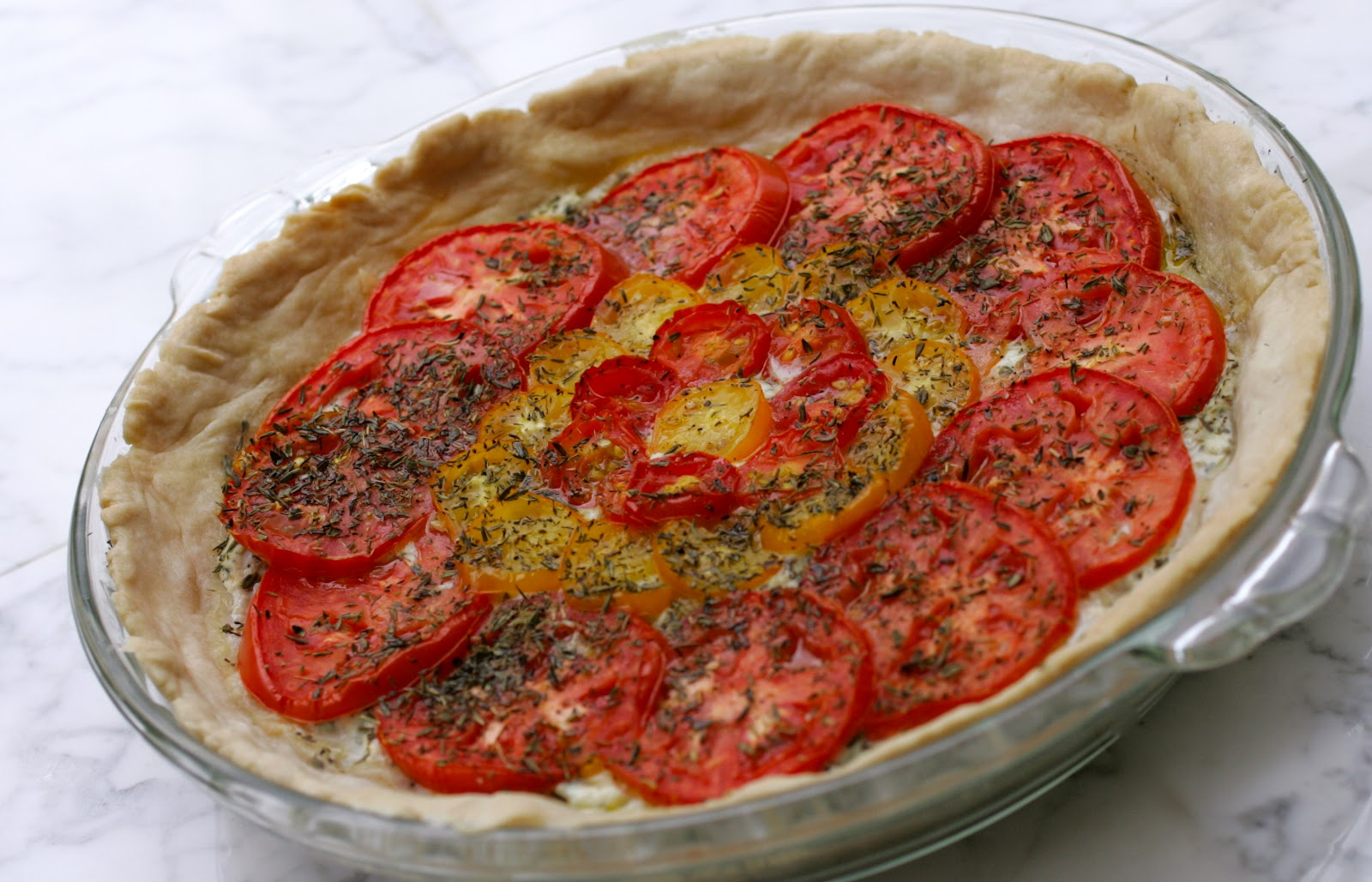 Bake It and Make It with Beth: Three Tomato Pie