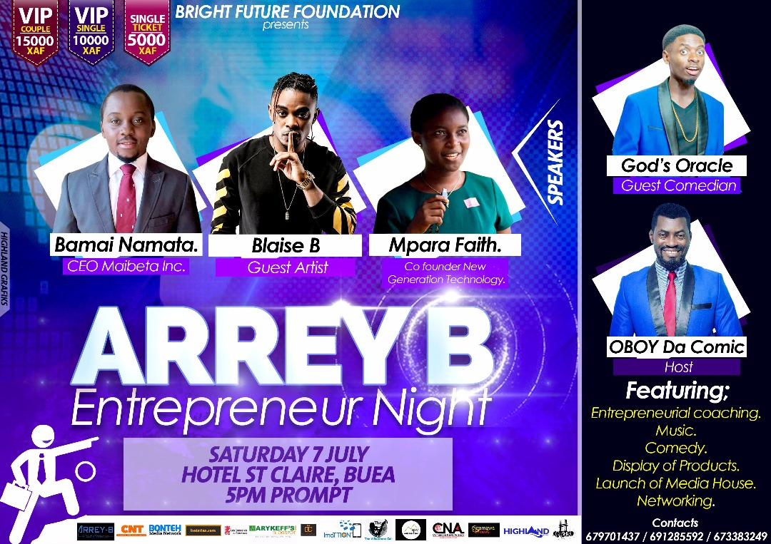 Arrey B Entrepreneurship Night