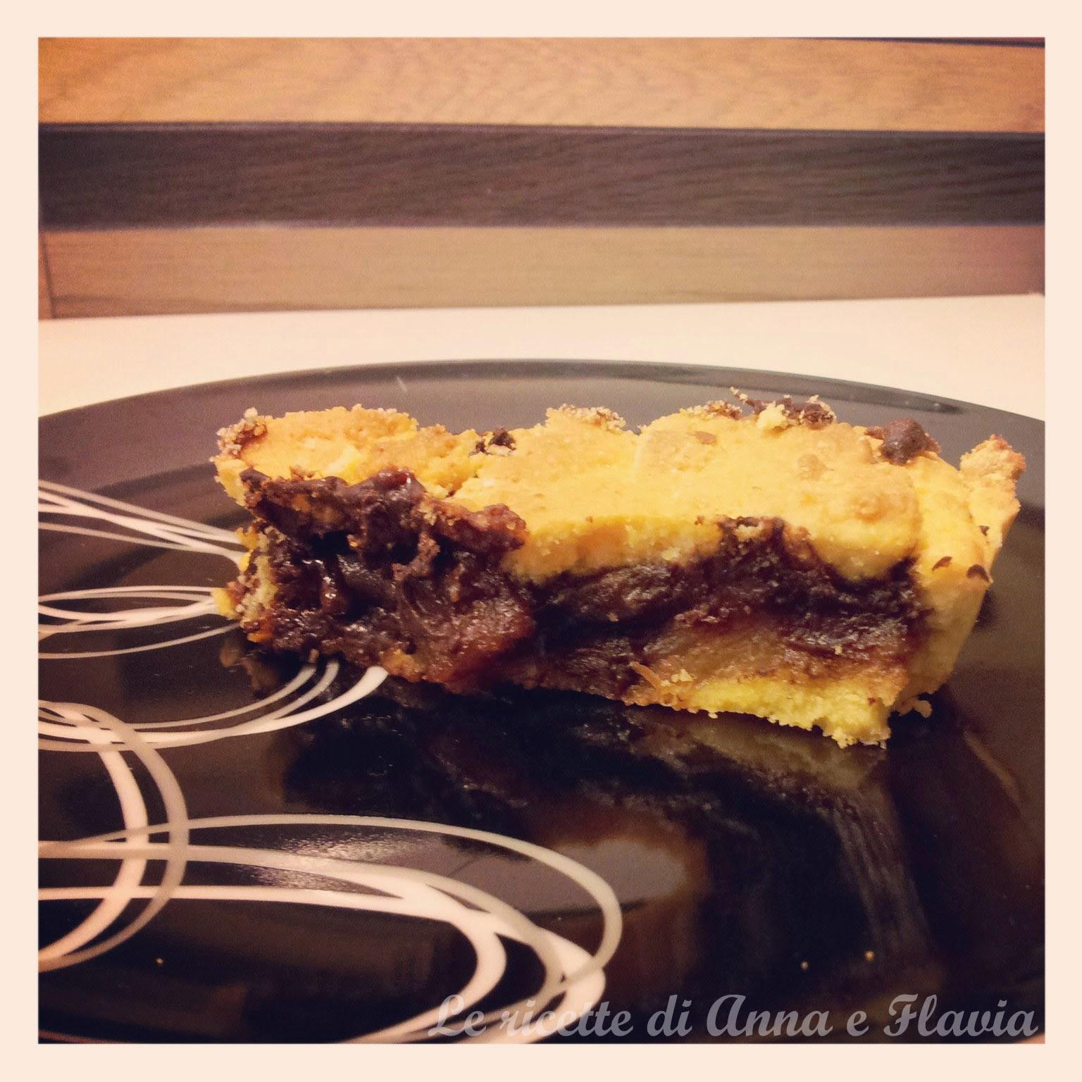 torta cioccolato e pere...rustica!