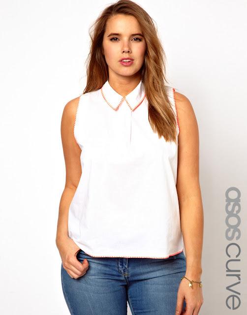 curve blouse