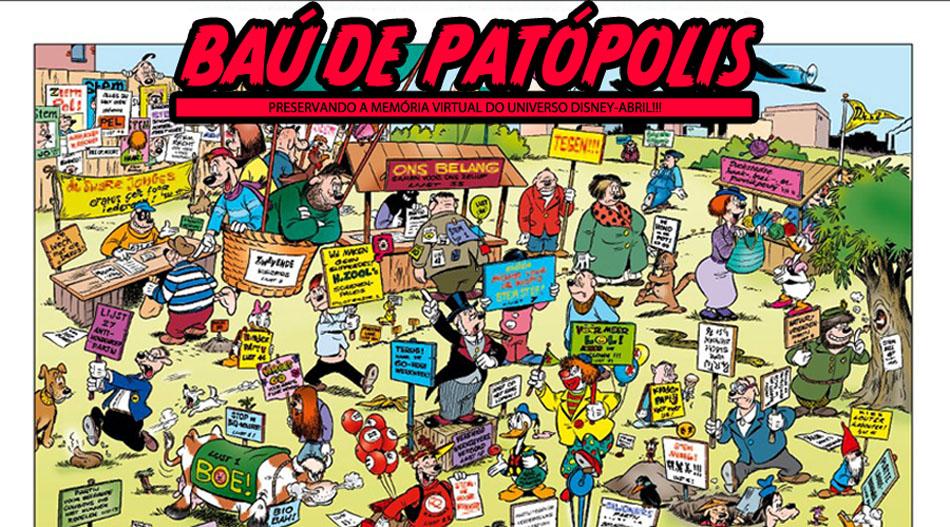 BAÚ DE PATÓPOLIS