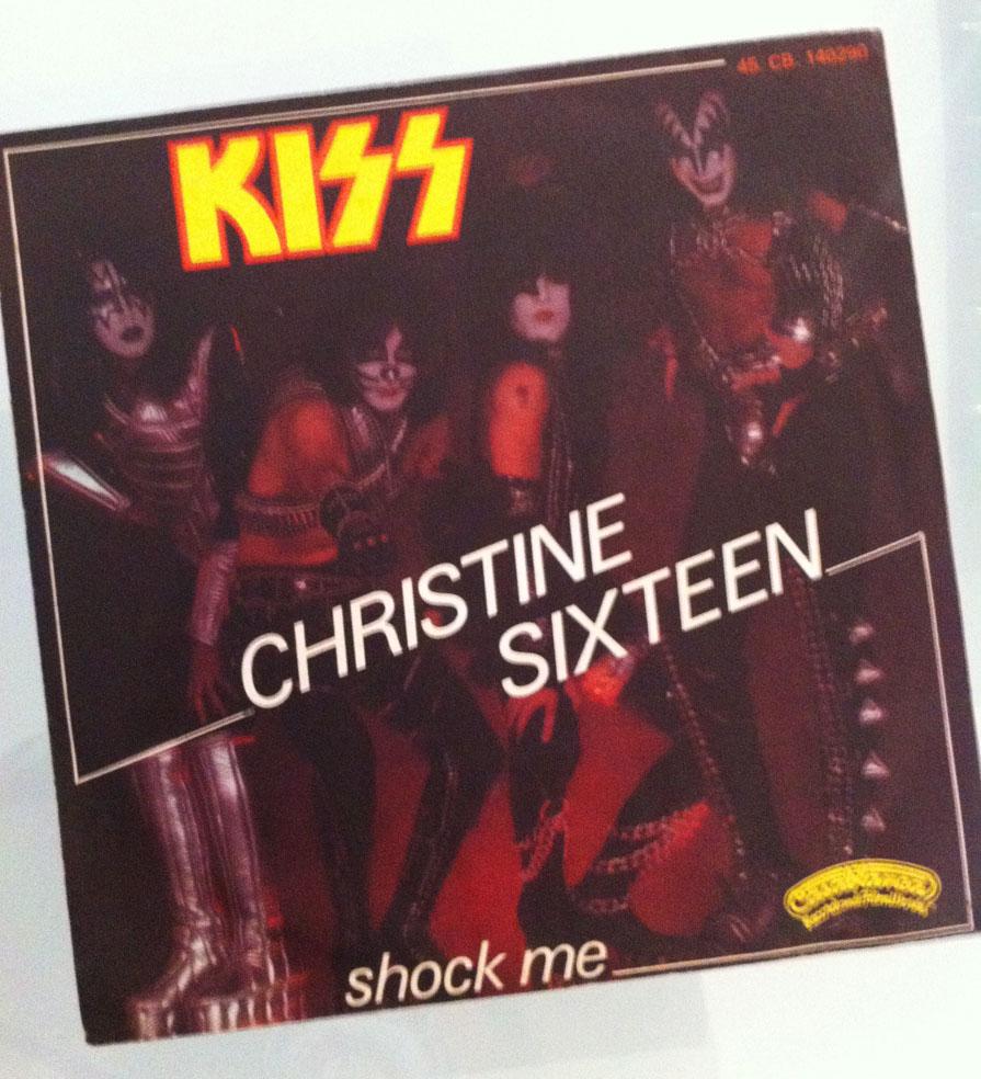 Kiss - Christine Sixteen