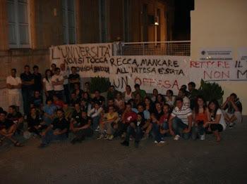 Manifestazione contro Chiusura Università a Ragusa
