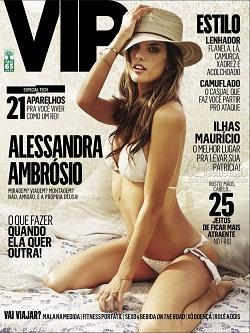 Download Revista Vip: Alessandra Ambrosio – Julho 2015