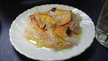 Halibut and Nectarine Salad