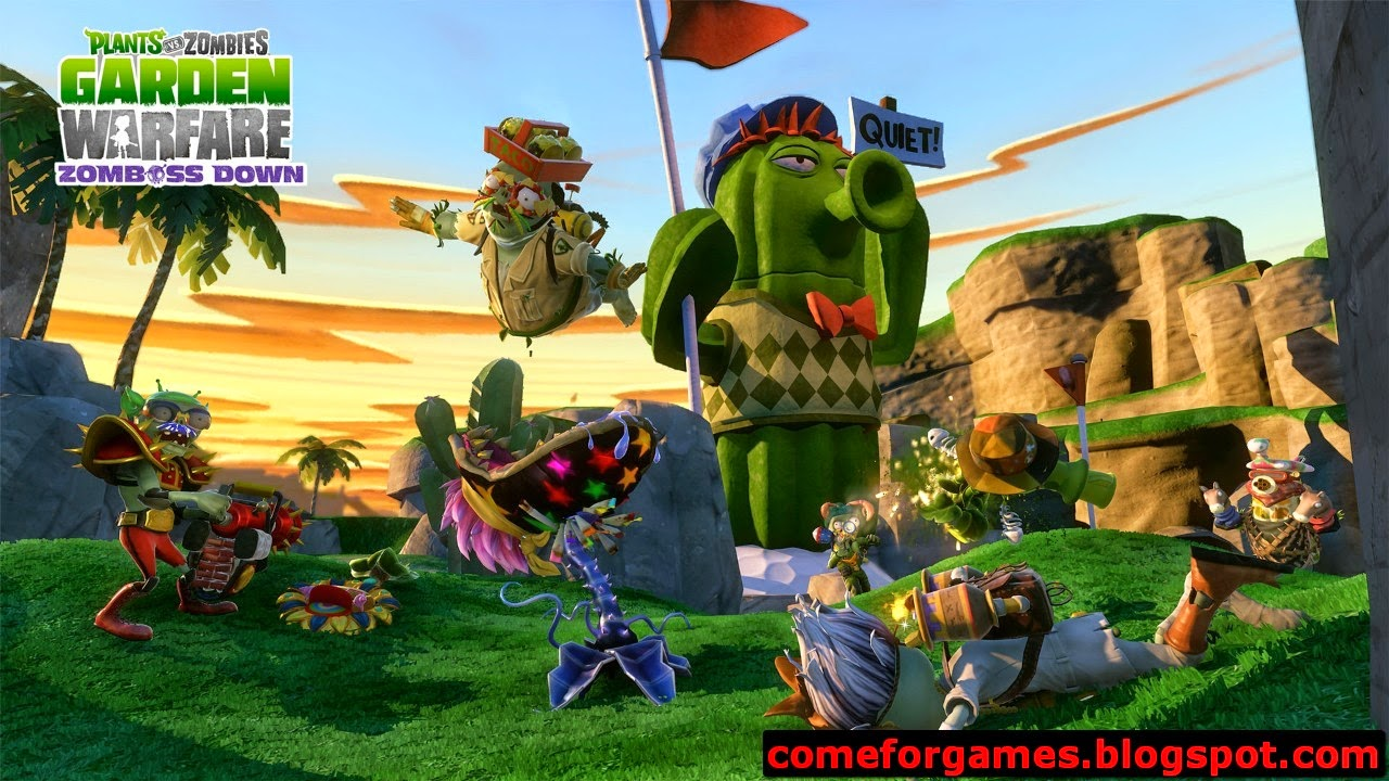 Plants Vs Zombies Garden Warfare Just Games For Gamers