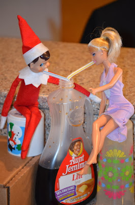 Elf on the Shelf Syrup Barbie
