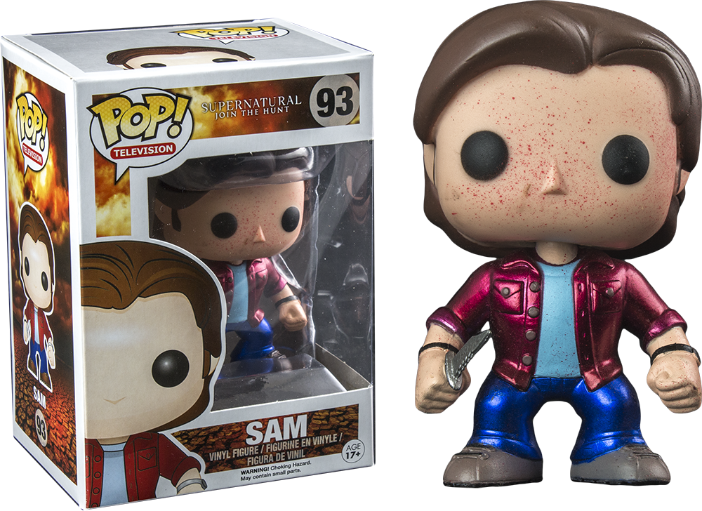 Funko Pop! Metallic Blood Splatter Sam Supernatural
